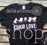 delikatissen shop - camisetas chair love