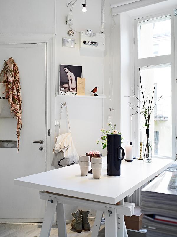 Plan easy home un mini apartamento de 31 m2 - Como decorar un estudio pequeno ...
