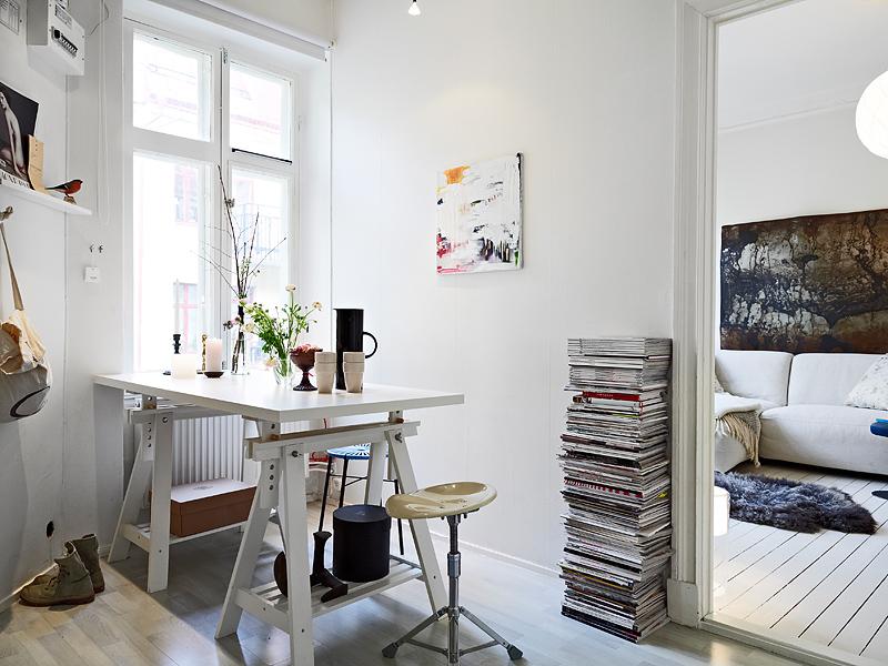 Plan easy home un mini apartamento de 31 m2 - Decoracion de estudios pequenos ...