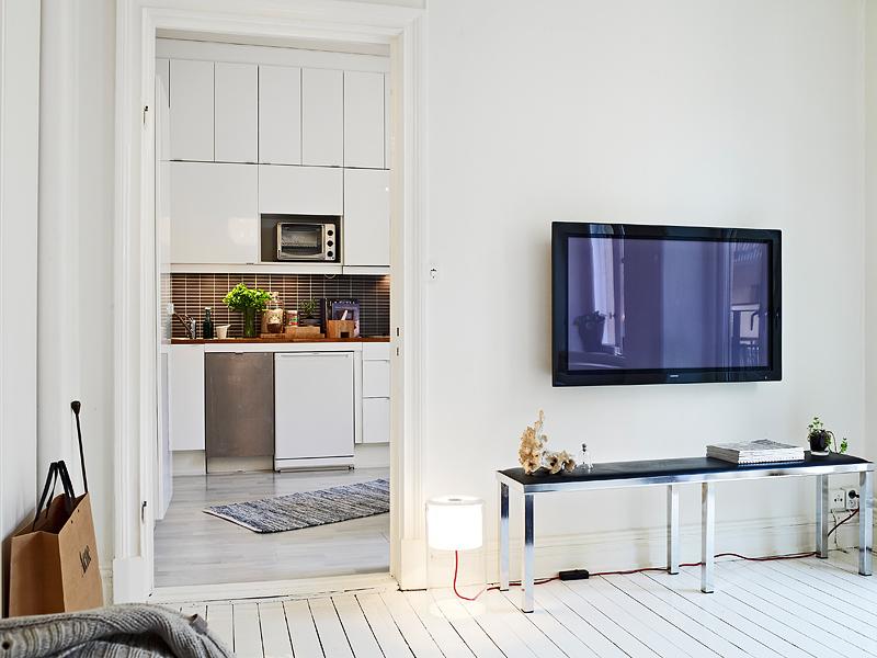 Plan easy home un mini apartamento de 31 m2 - Decoracion pisos pequenos ...