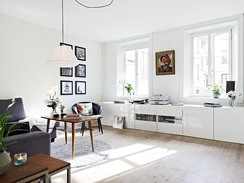 Mueble bajo en el sal n blog tienda decoraci n estilo for Muebles bajos para salon