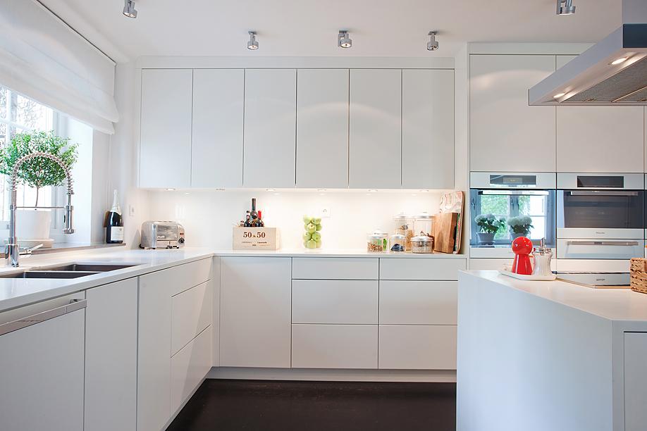 Decoraci n a tu alcance cocinas blancas de estilo n rdico - Cocinas estilo nordico ...