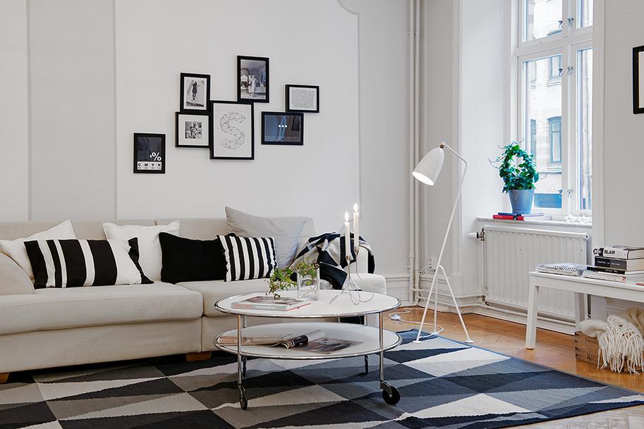 Estilo n rdico en blanco y negro tendencia deco 2013 - Deco estilo nordico ...