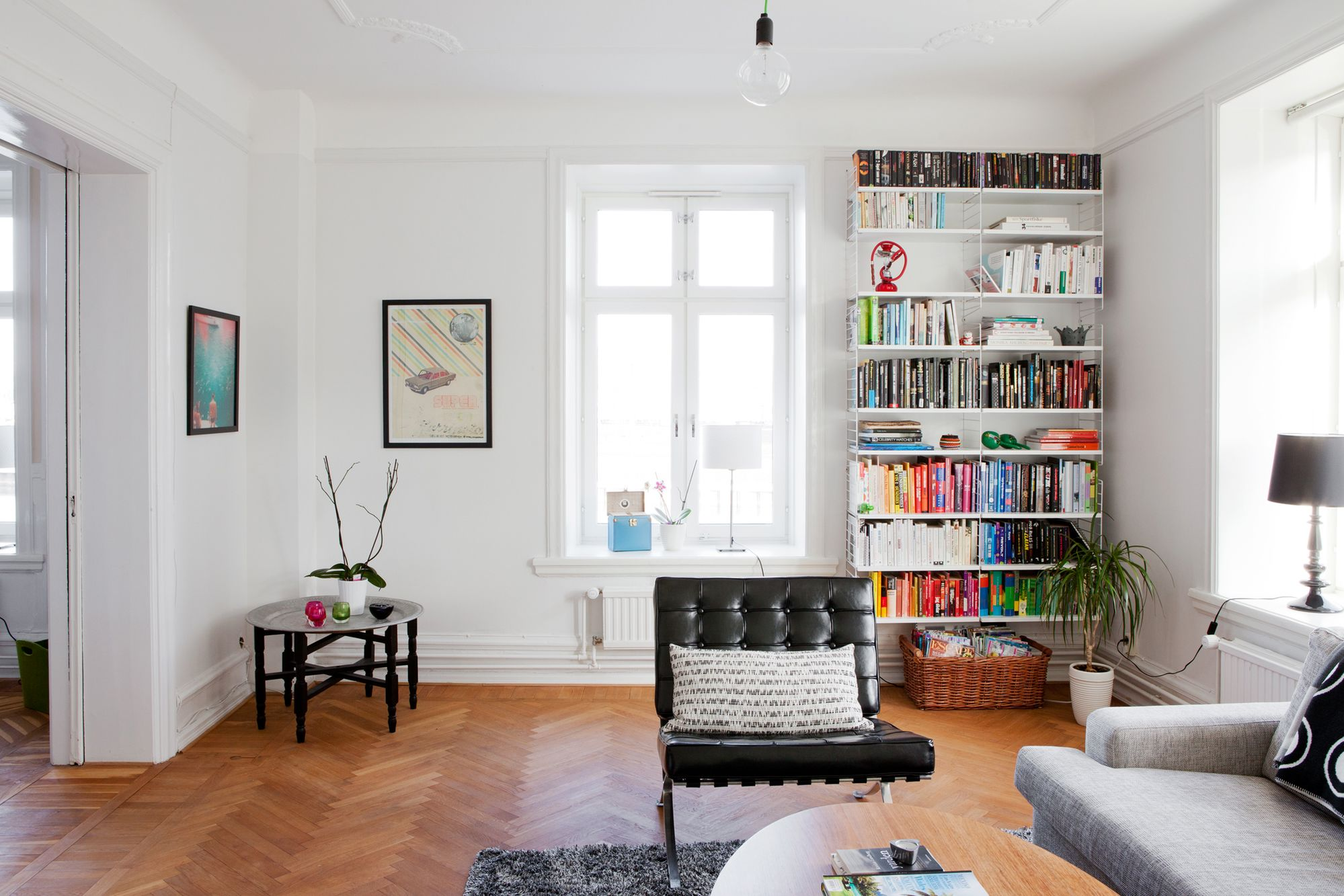 Chill decoraci n oficina para dos en el coraz n de la casa - Decoracion despachos en casa ...