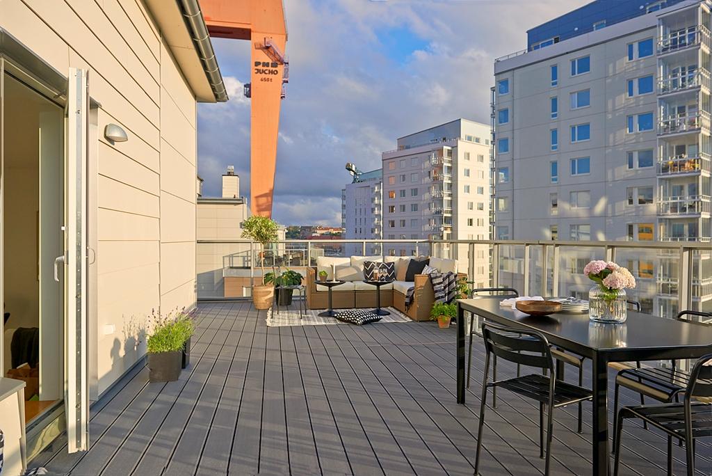 Terrazas en los pisos n rdicos blog tienda decoraci n - Piso estilo nordico ...