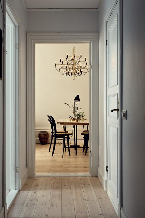 interiores pisos espacios pequeños estilo nórdico escandinavo decoración salones comedores decoración dormitorios nórdicos decoración diseño pisos pequeños cocinas blancas pequeñas Cálido estilo nórdico con textiles e iluminación de ambiente blog diseño decoración interiores