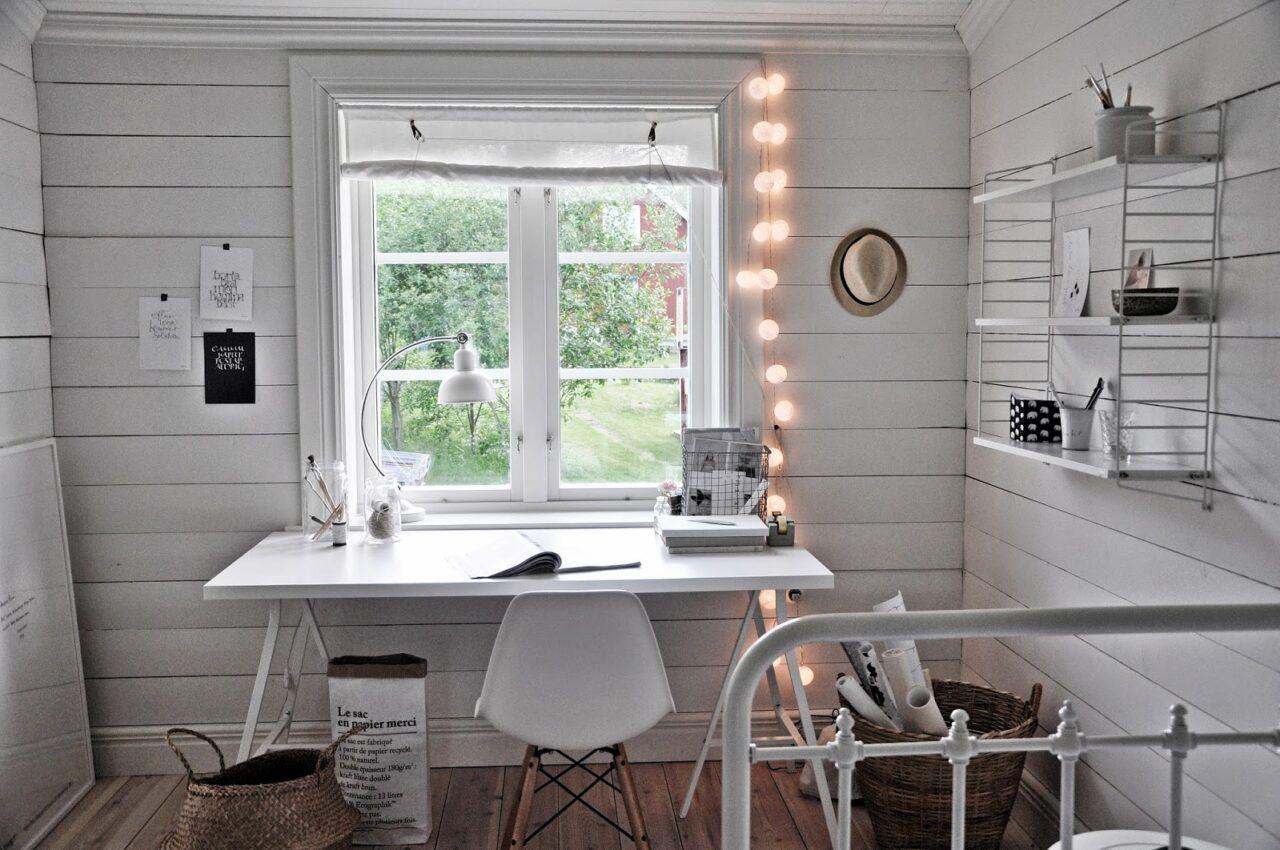 La oficina nórdica en casa - Blog tienda decoración estilo nórdico -