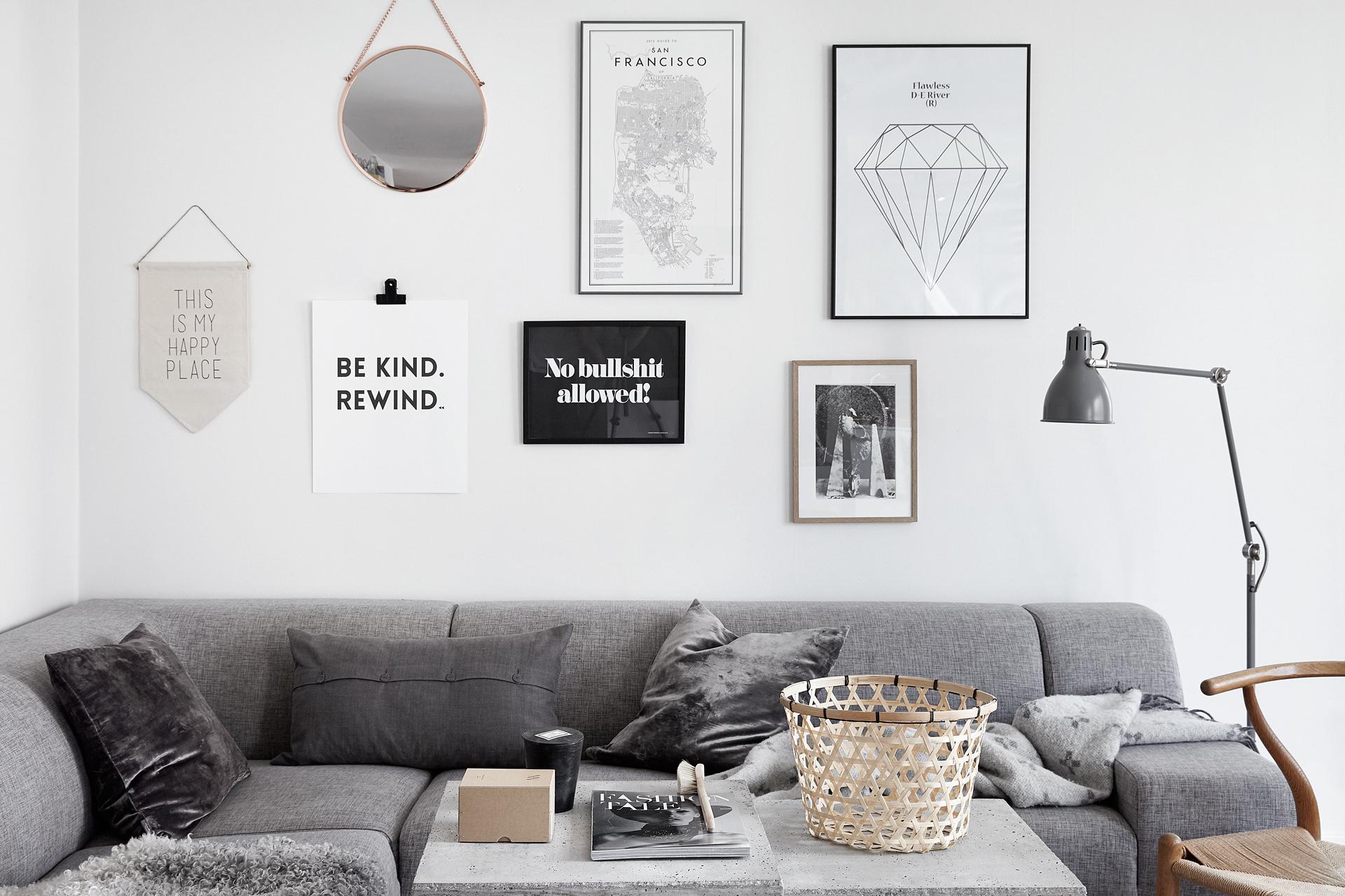 Estilismo n rdico de interiores blog tienda decoraci n for Laminas cuadros estilo nordico