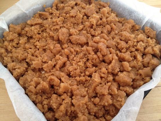 recetas delikatissen Recetas Americanas postres fáciles y rápidos postres americanos Crumb cake bizcochos con capas bizcocho crumb bizcocho con crujiente bizcocho con canela