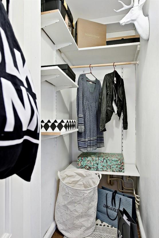 Pequeño gran estudio nórdico de 42 m²