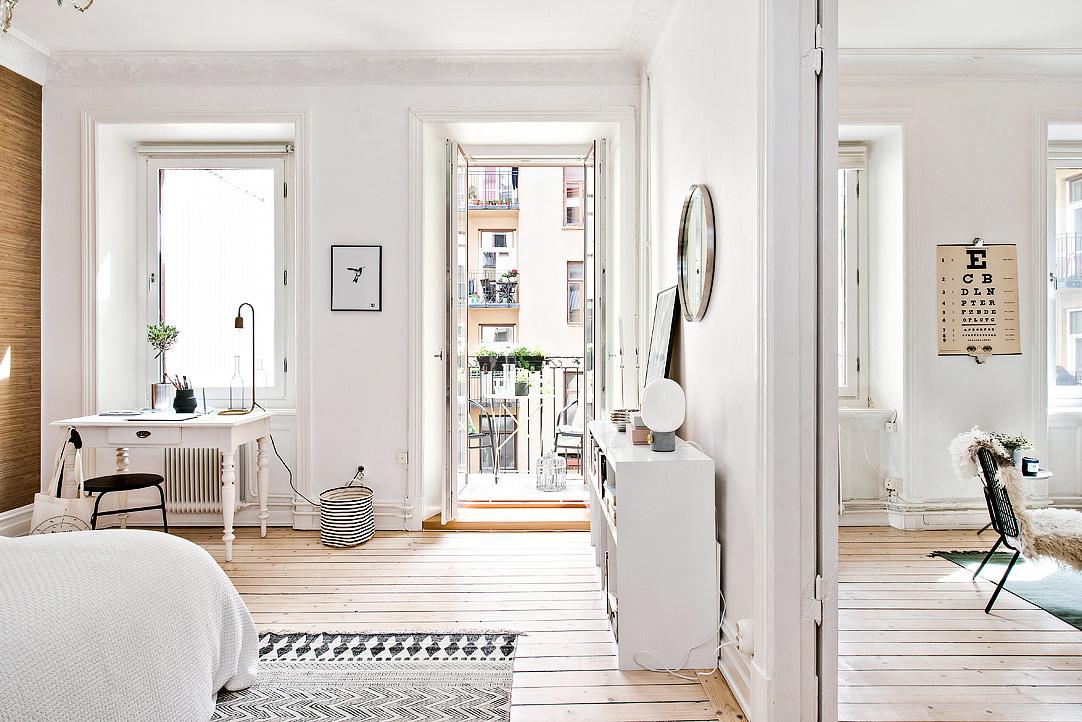 estilo nrdico escandinavo dormitorio simetra armonia dormitorio nrdico decoracin pisos pequeos decoracin espacios pequeos decoracion dormitorios