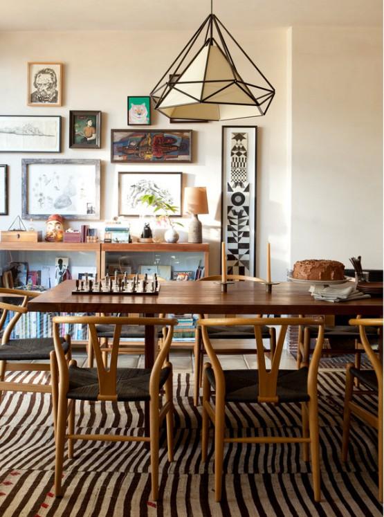 Muebles de diseño Mid-century modern en Silverlake california matrimonio Eames Hans J. Wegner estilo nórdico estilo mid-century modern case study houses blog decoración de interiores arquitectura estilo americano
