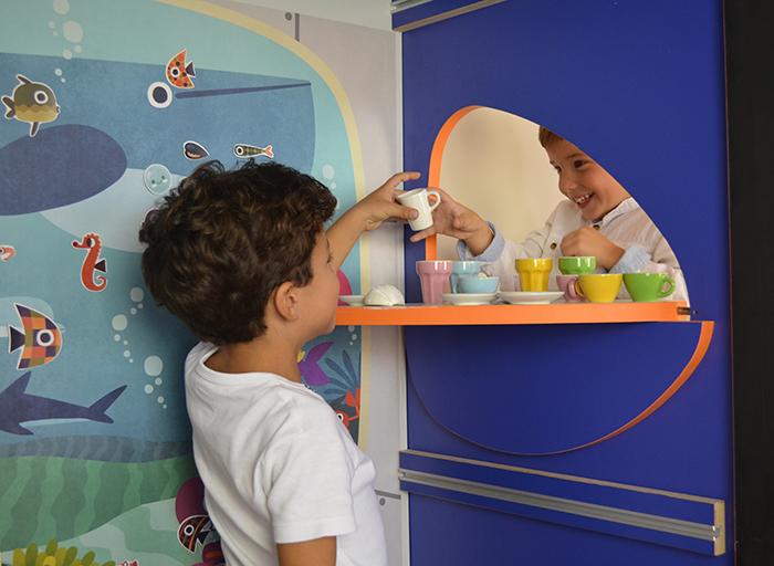 productos espacios de juego para niño muebles transformables muebles para niños estilo nórdico DreamHut mini diseño y construcción de casas decoración habitaciones niños decoración habitaciones infantiles casita de juegos de Yuhuhugs