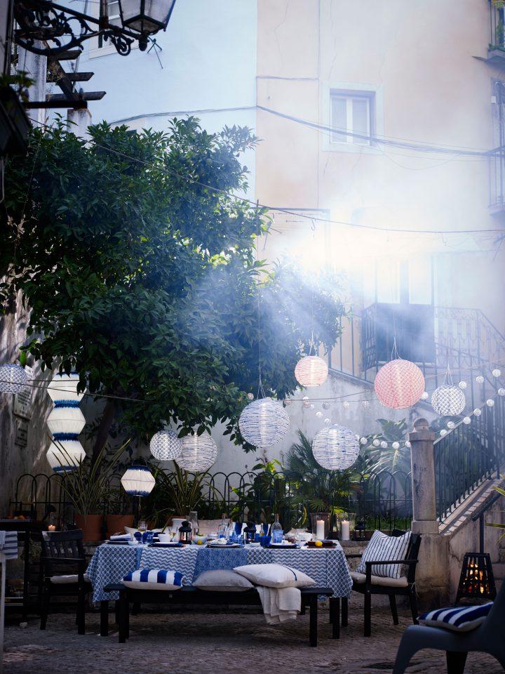 muebles de terraza inspiración ikea Ikea verano 2016 diseño exteriores decorar con muebles ikea decoración balcones terrazas compras accesorios chill out en la terraza blog decoración nórdica