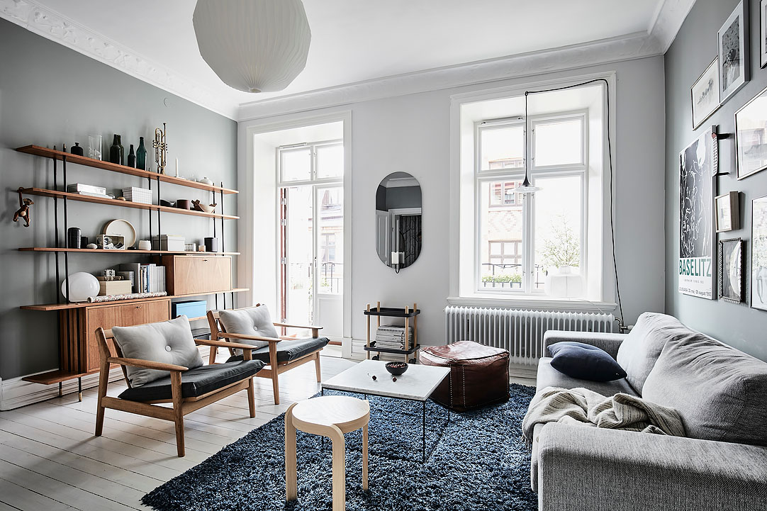 C lidos detalles en un piso n rdico blog tienda - Piso estilo nordico ...
