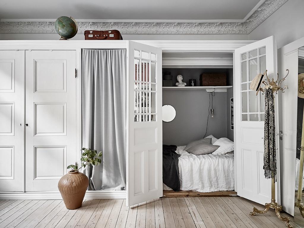 La cama en un armario blog tienda decoraci n estilo - Cama estilo nordico ...
