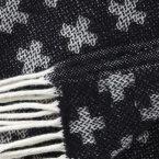 Manta de lana Cross