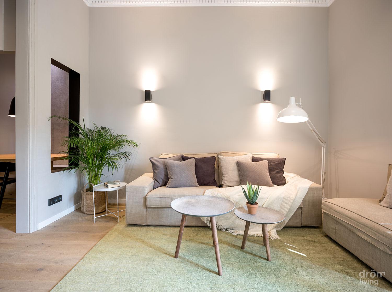 Minimalismo c lido en el ensanche barcelon s blog tienda for Decoracion apartamento pequeno estilo minimalista