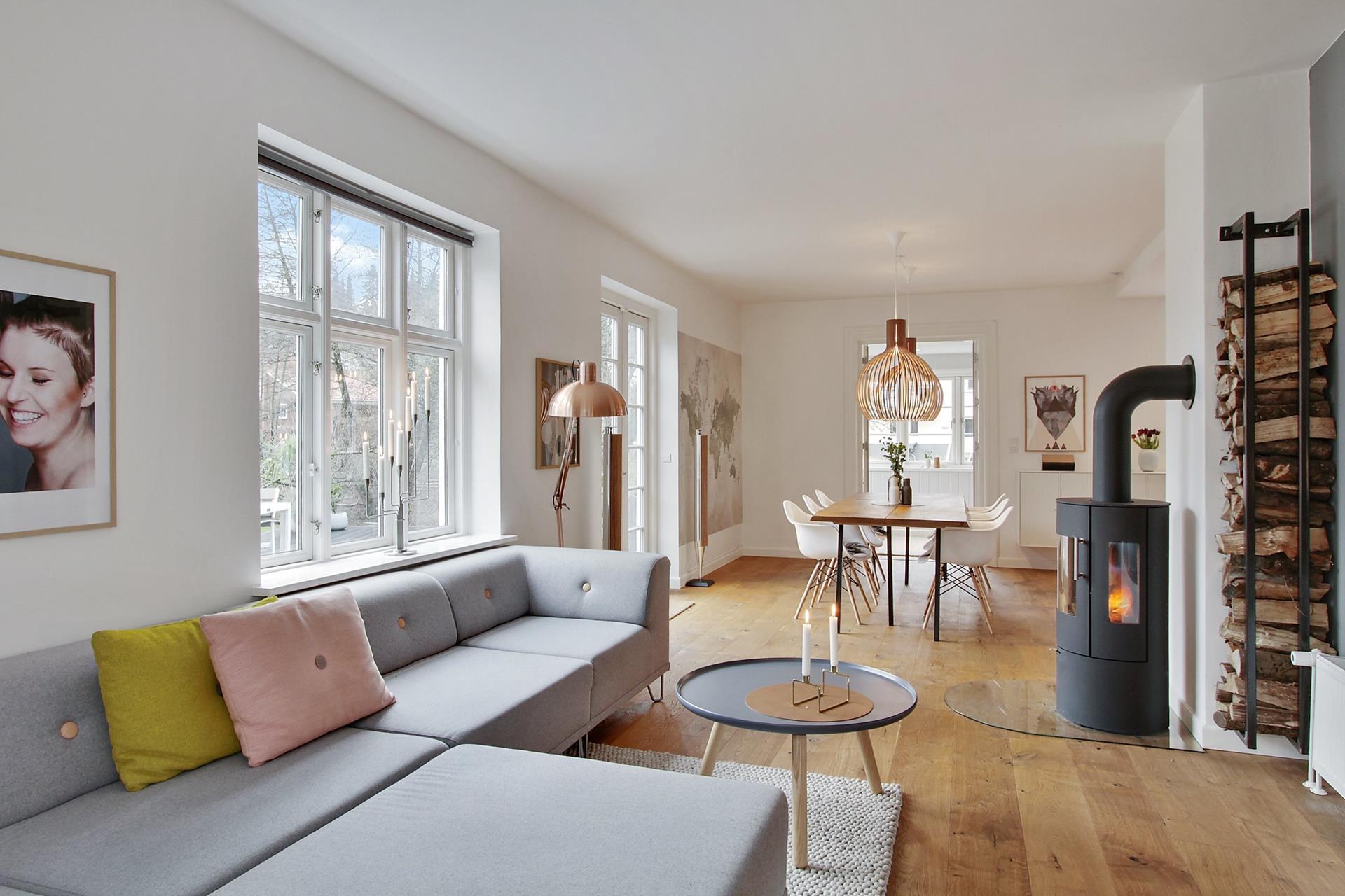 cocina abierta al sal n en forma de l blog tienda decoraci n estilo n rdico delikatissen. Black Bedroom Furniture Sets. Home Design Ideas