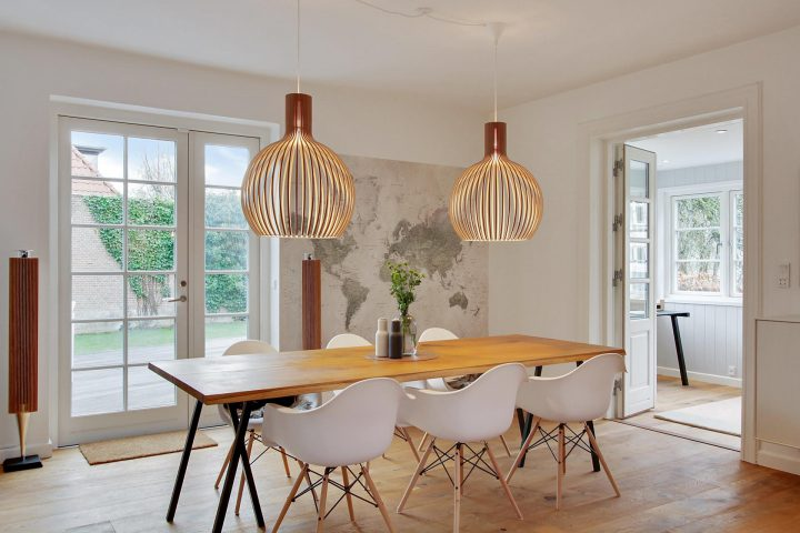 estilo nórdico distribución diáfana decoración nórdica moderna decoración lineas rectas decoración interiores decoración blanco madera Cocina abierta al salón en forma de L blog decor