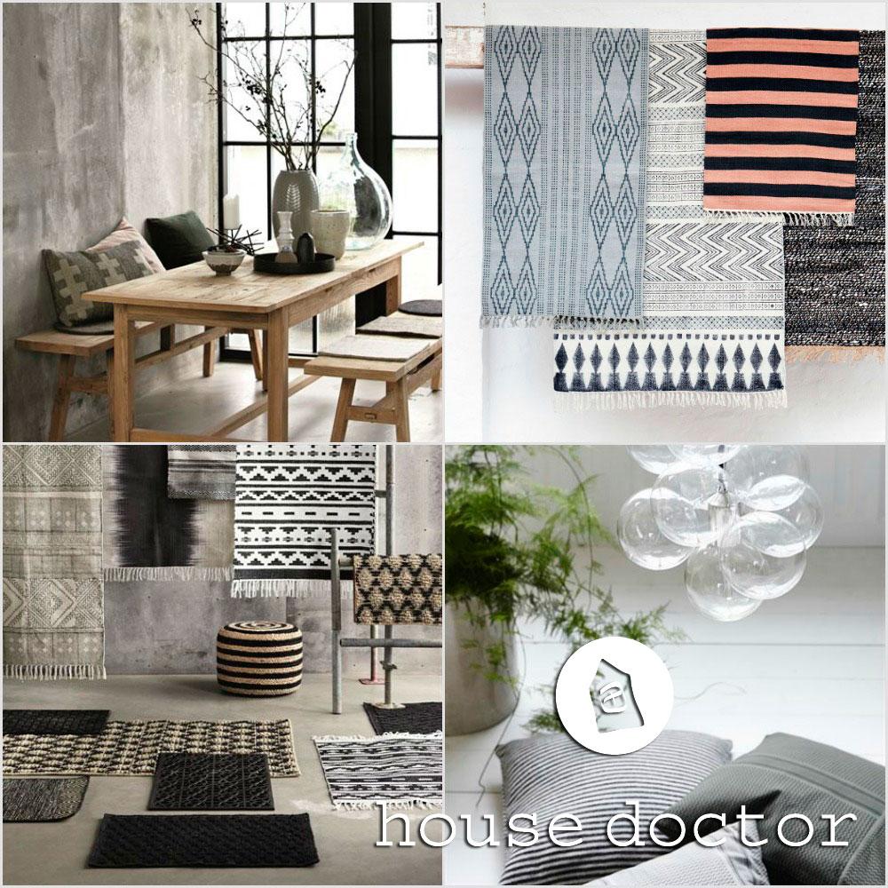 Alfombras y cojines house doctor blog tienda decoraci n estilo n rdico delikatissen - Alfombras nordicas ...