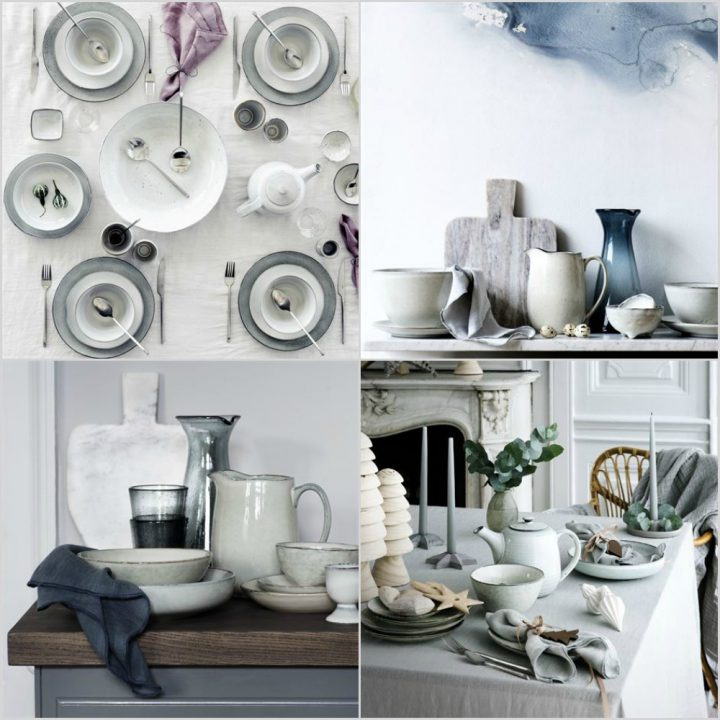 Vajillas y decoración vajillas rústicas modernas vajillas danesas porcelana vajillas nordicas estilo nórdico blog diseño nórdico diseño danés decoración mesas Broste Copenhagen