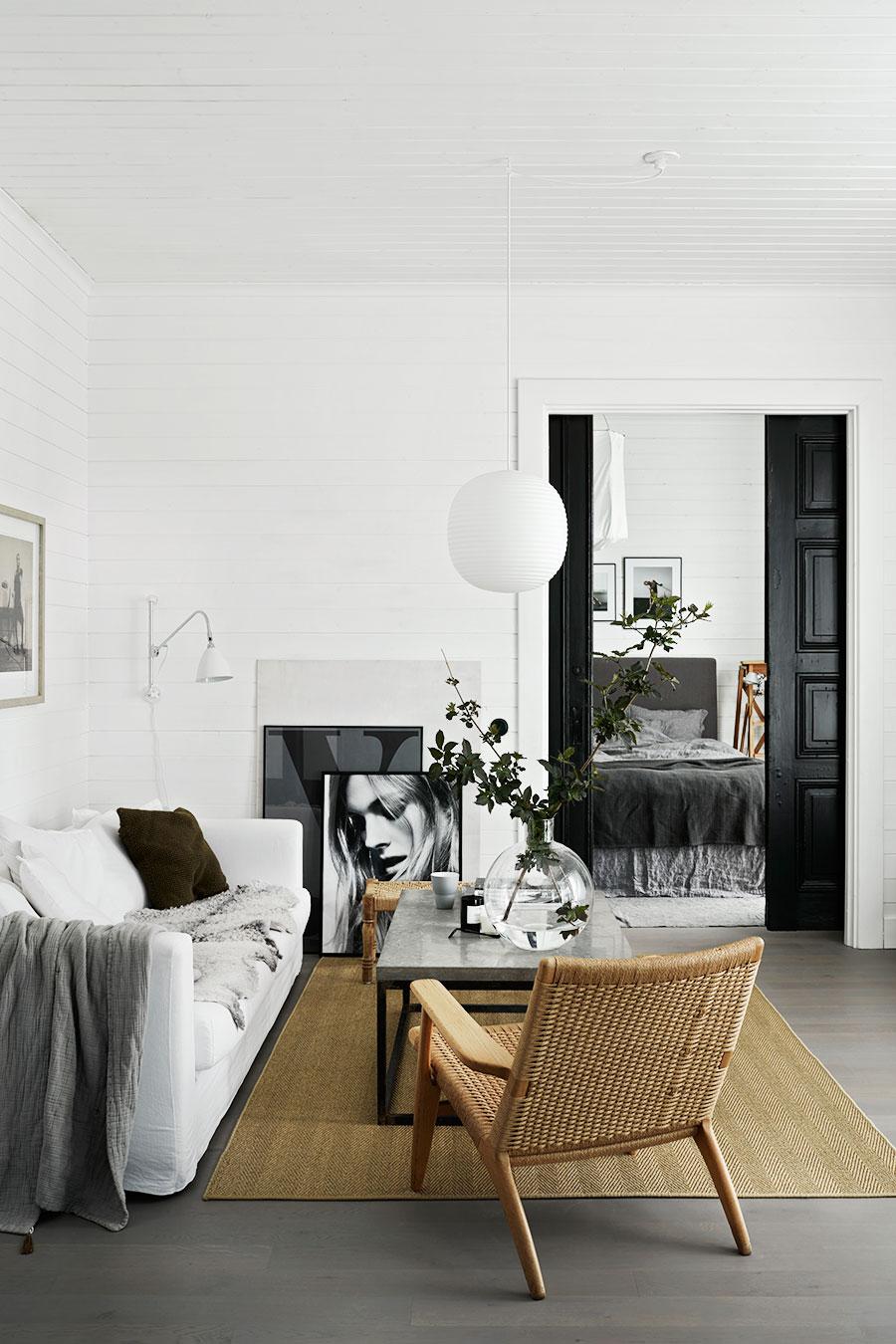 La casa minimalista de una estilista de interiores n rdica for Casa minimalista blog