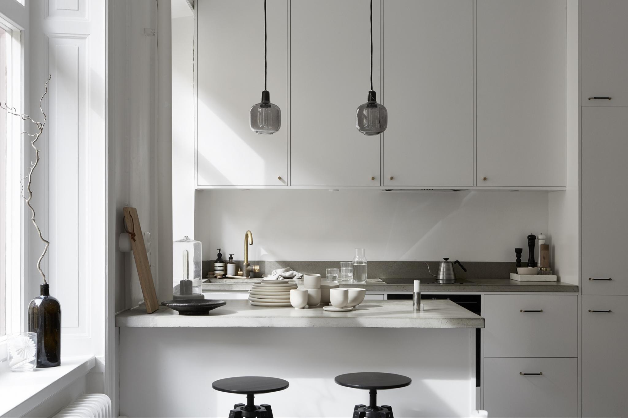 Piso peque o y elegante blog tienda decoraci n estilo - Piso pequeno estilo nordico ...