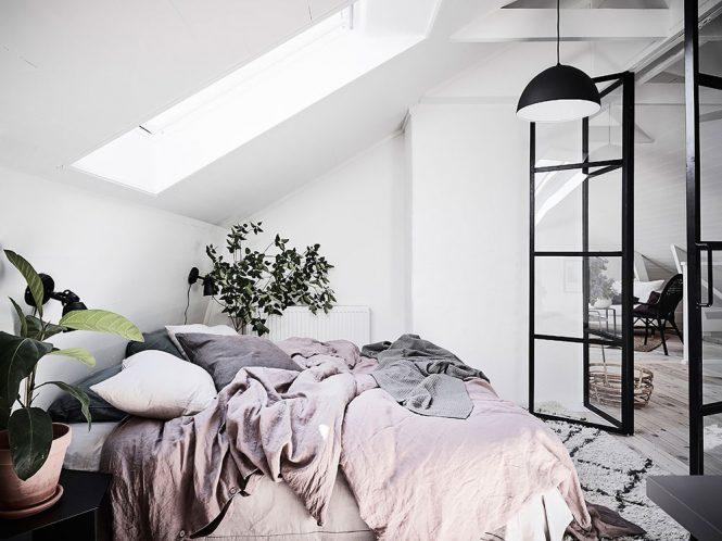estilo nórdico decoracion dormitorios
