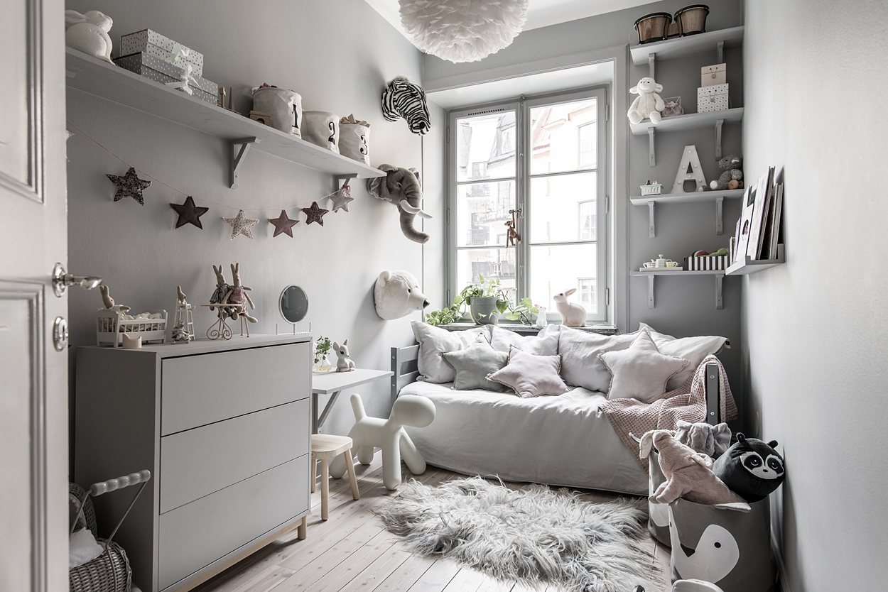 habitaci n infantil n rdica en gris blog tienda