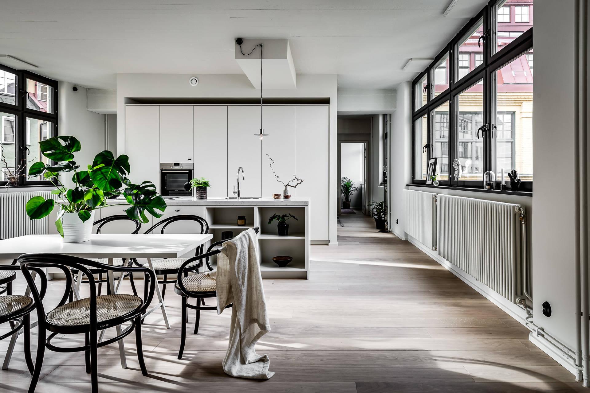 Espectacular Cocina Sueca Abierta Delikatissen Bloglovin  # Muebles Mio Suecos