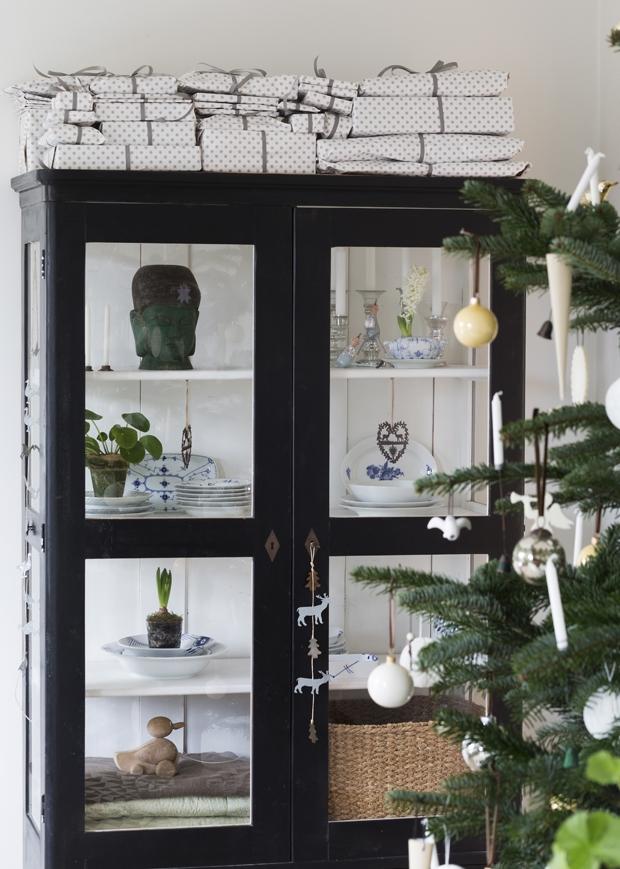 navidad en blanco kræmmerhuse guirnaldas estilo nórdico decoración navideña nórdica decoración navidad decoración invierno cadenetas artículos navideños adornos de navidad DIY
