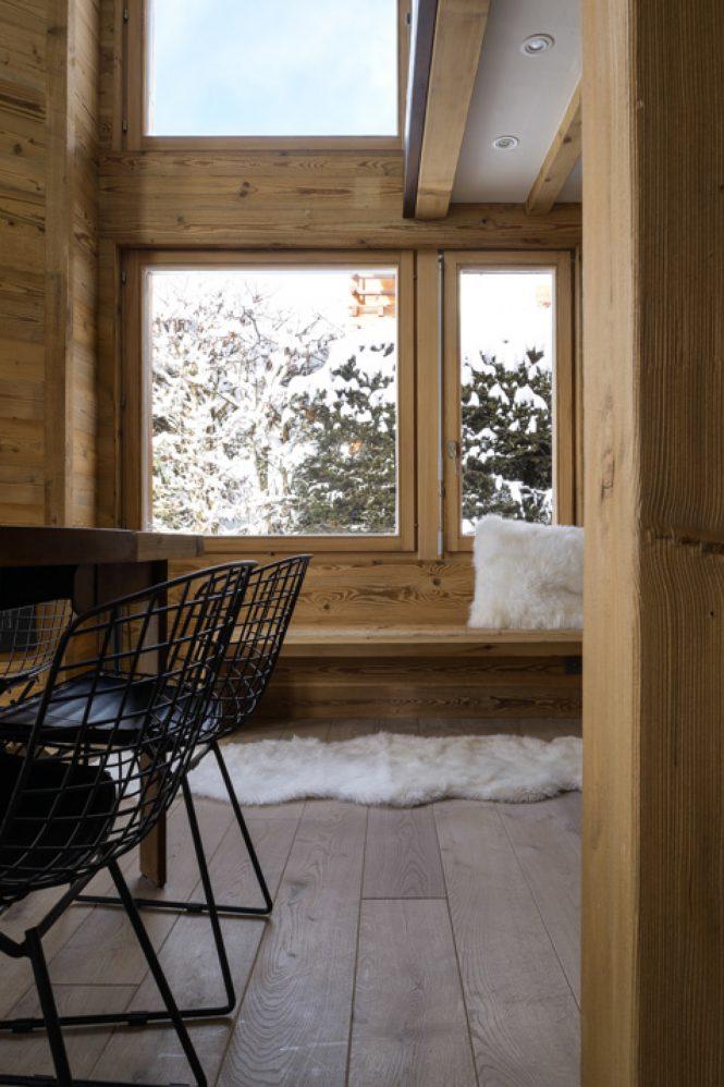 Chalet suizo de madera