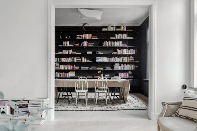 Salón blanco, comedor negro - Blog tienda decoración estilo nórdico -