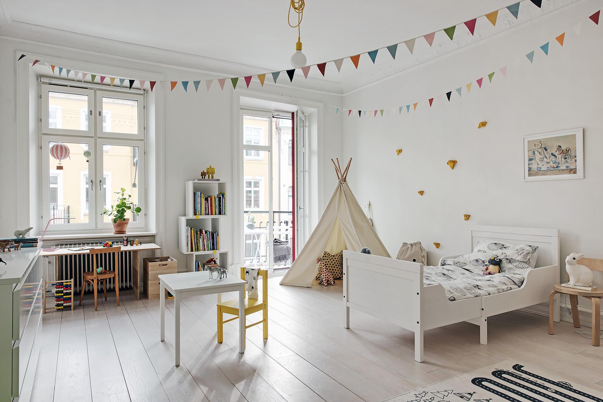 Como decorar una habitaci n infantil en estilo n rdico for Decoracion infantil estilo nordico