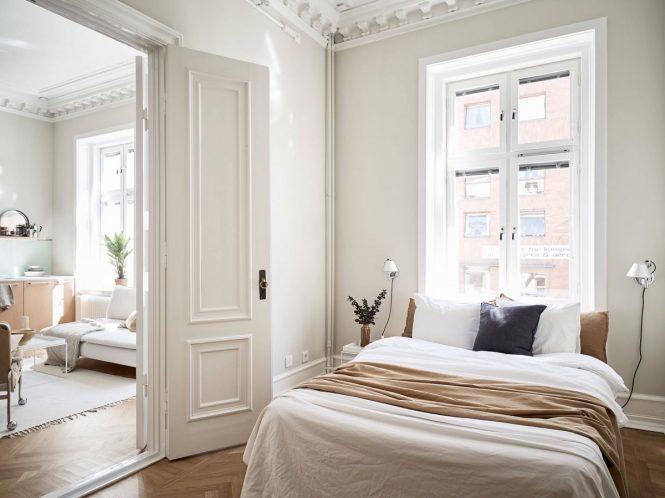 Detalles arquitectónicos refinados en un piso de 49 m²