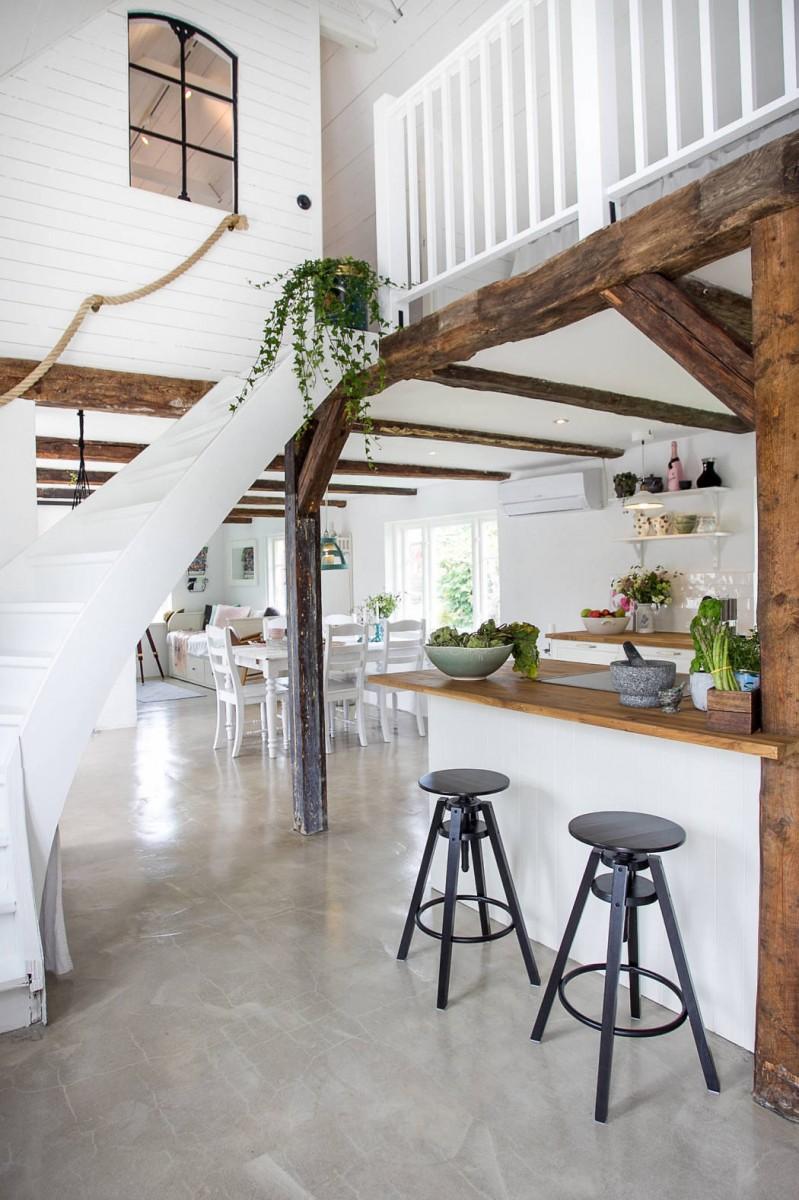 vacaciones países nórdicos estilo escandinavo country house casa suecia casa de vacaciones Casa de madera casa de campo