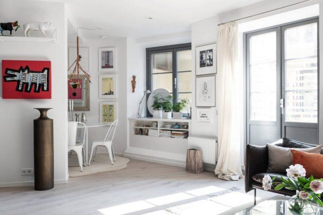 teles planas decoracións salones nórdicos la tele decorar estilo nórdico decoración televisor decoración salón