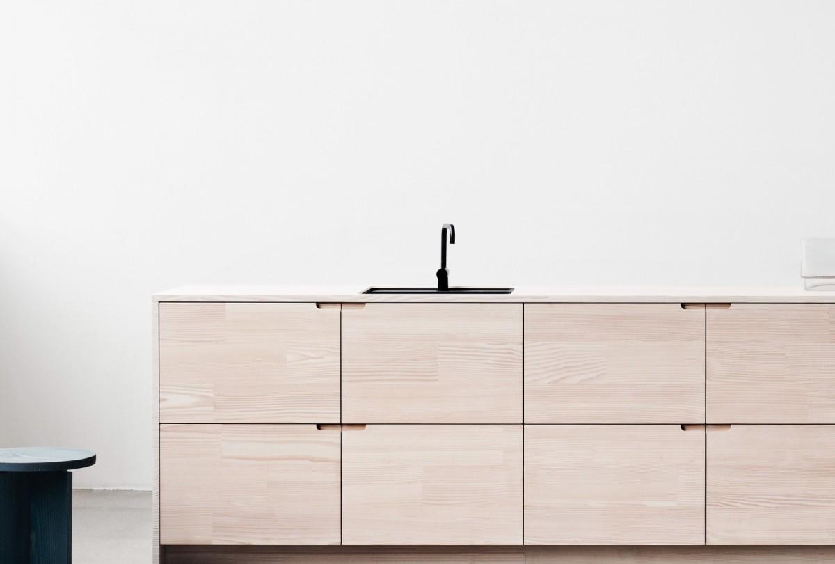Cocinas minimalistas hechas con madera reciclada - Blog tienda ...