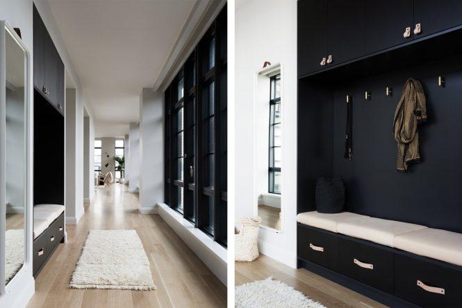 Escandinavo moderno en blanco y negro