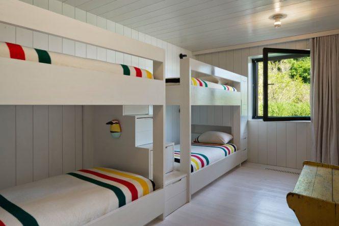 Puro estilo escandinavo en los Hamptons
