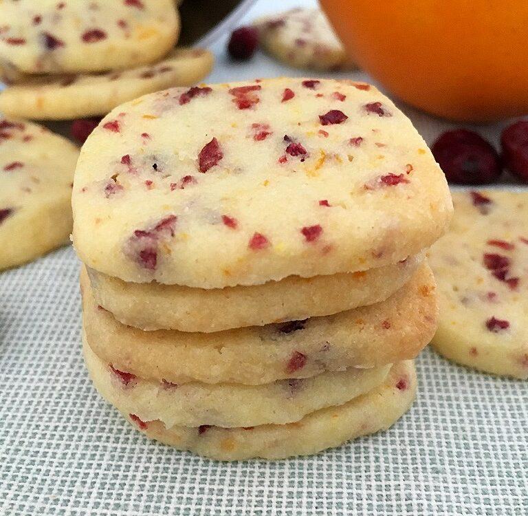 galletas fáciles galletas de naranja galletas de cortar galletas de arándanos galletas caseras easy cookies cranberry orange cookies