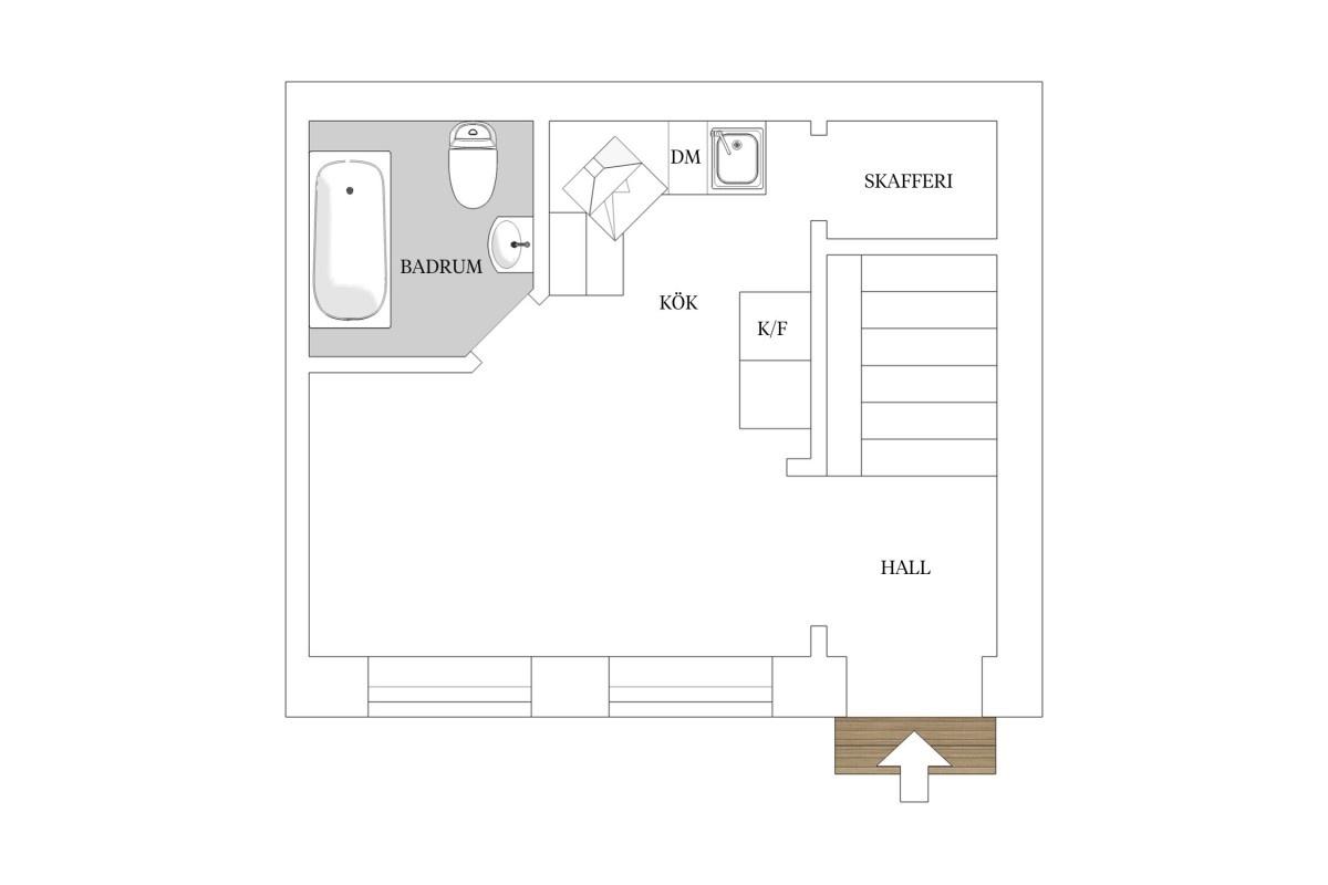 Vivir en una casa de 1876