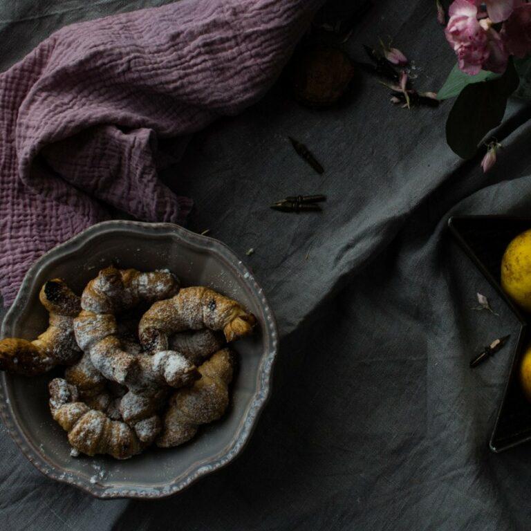 recetas con hojaldre postres caseros manzana hojaldre relleno de manzana cruasans rellenos croissants rellenos bollería casera