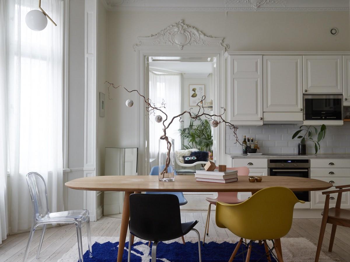 vintage tendencias decoración 2019 mid-century modern estilo nórdico 2019 decorar con color