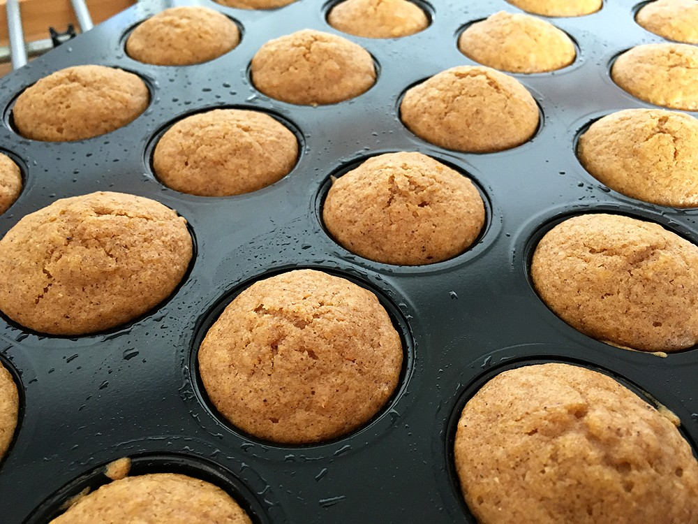 sweet potato minimuffins sweet potato dessert recetas fáciles postres postres con fruta mini muffins de boniato magdalenas fruta magdalenas boniato