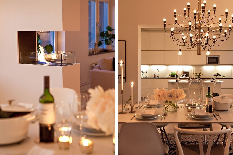 velas en decoración decorar con velas decoración hygge decoración escandinava