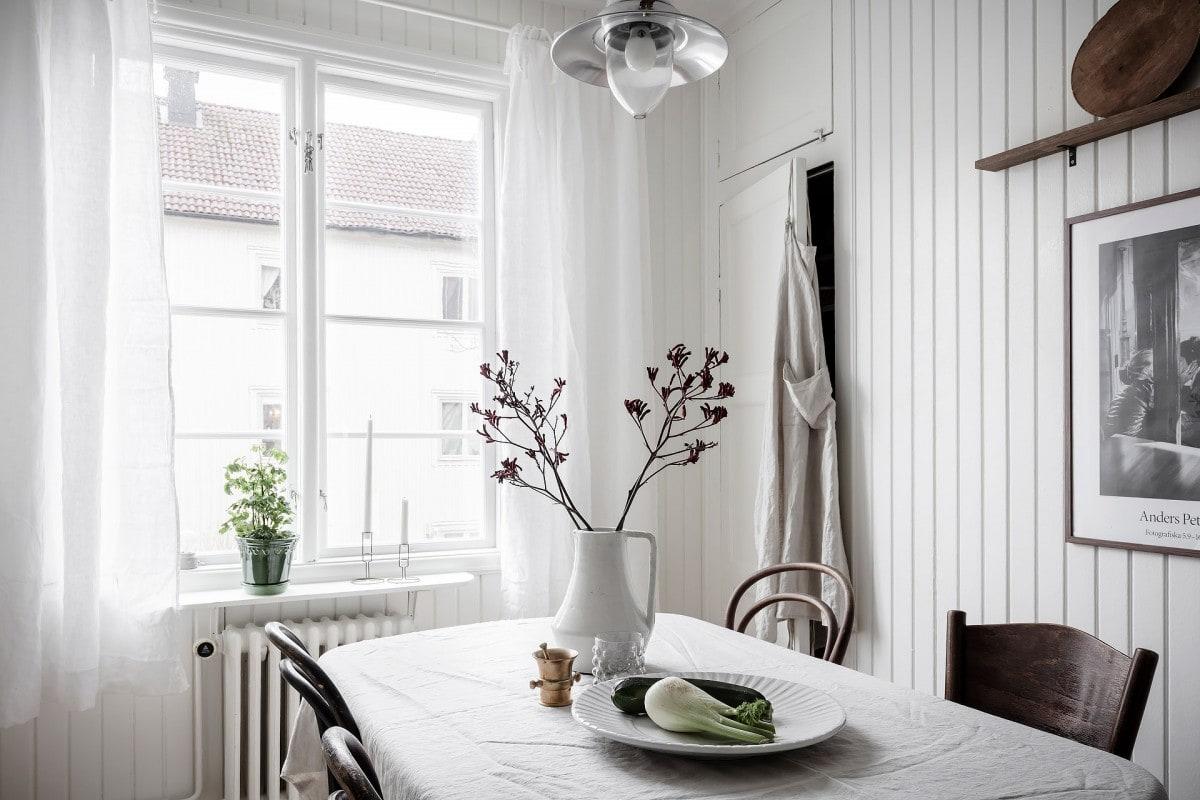 Cuarto de baño y cocina en estilo rústico francés