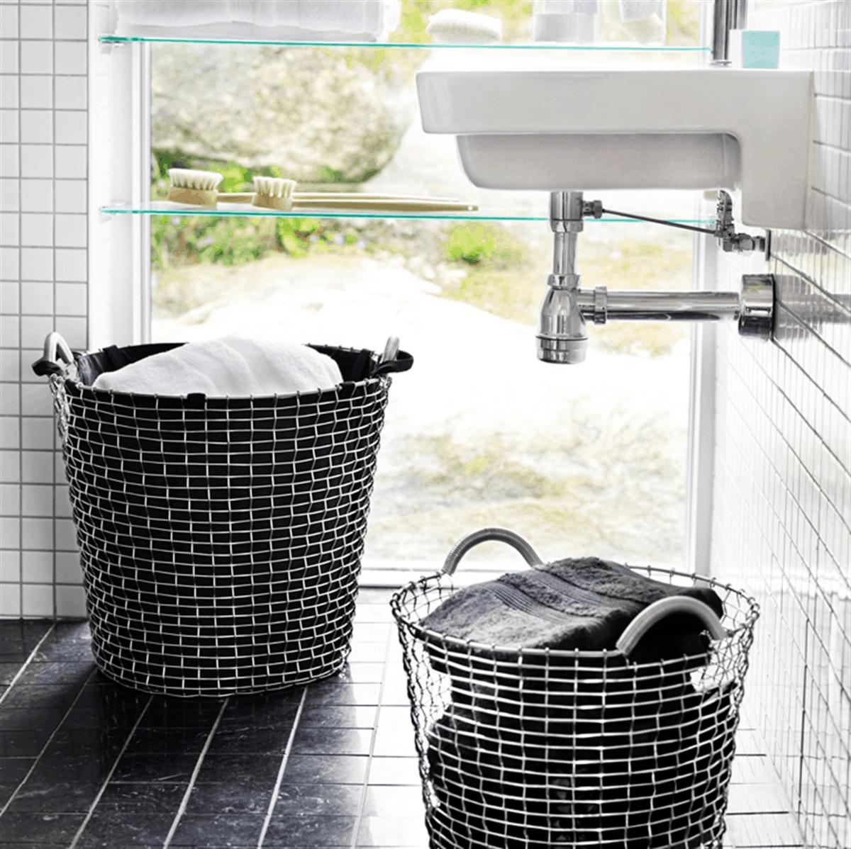 Artículos de diseño para la limpieza y la colada en casa