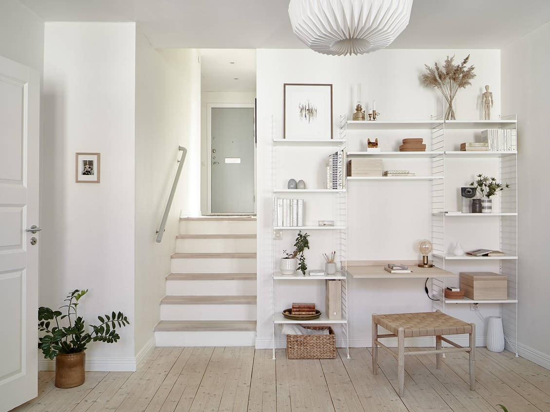 Blanco roto o natural para las paredes
